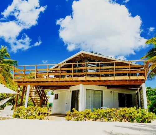 Photo of beach house in the Cayman Islands